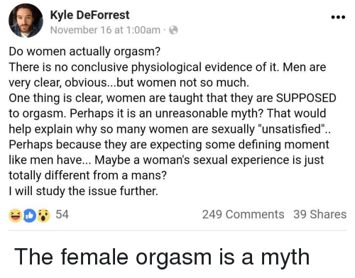 Women orgasm clear
