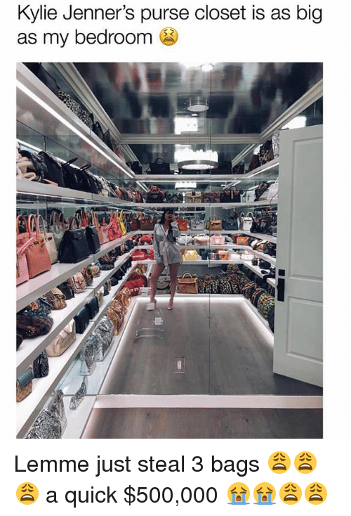 Kylie Jenneru0027s Purse Closet Is As Big As My Bedroom Lemme ...