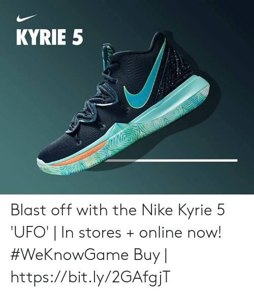 best sneakers 1f23a 68af4 Memes, Nike, and 🤖  KYRIE 5 Blast off with the Nike Kyrie 5