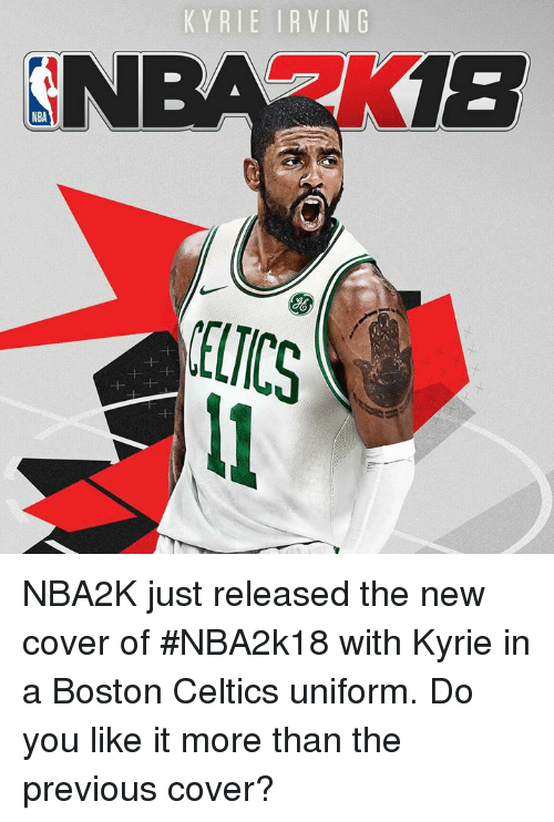 68967572eb93 KYRIE IRVING NBA KI8 NBA ELICS NBA2K Just Released the New Cover of ...