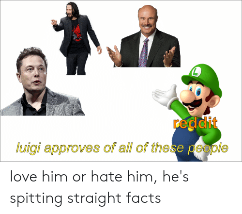 L Reddit Luigi Approves of All of These People Love Him or