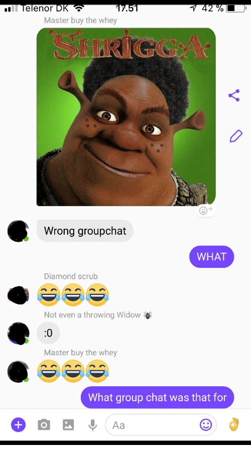Widow chat group