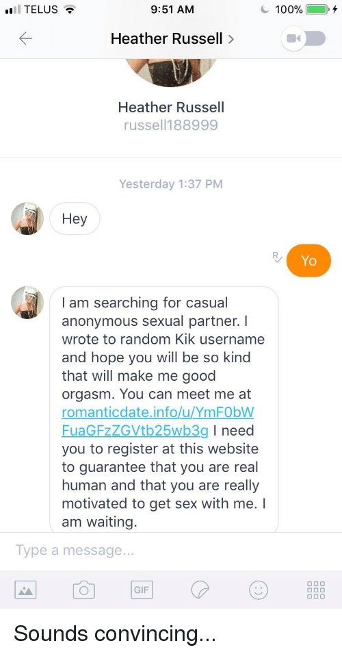 Casual sex website reddit