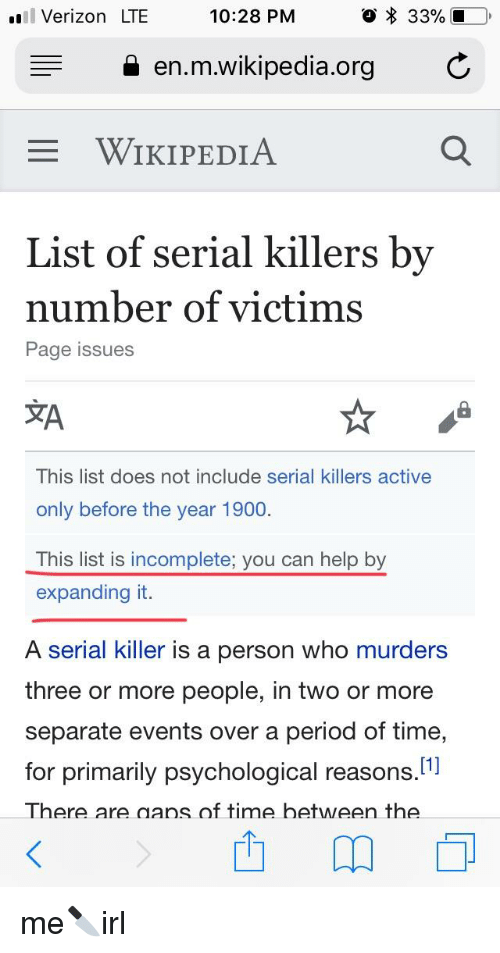 list of serial killers by number of victims