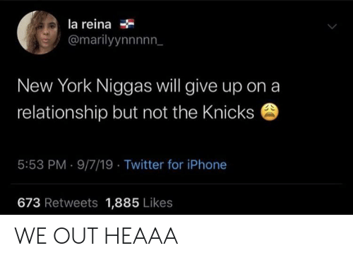 La Reina New York Niggas Will Give Up Ona Relationship but