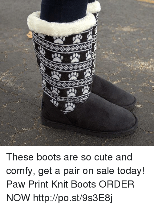 495c0d47cf4 La These Boots Are So Cute and Comfy Get a Pair on Sale Today! Paw ...