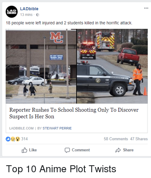 Denver School Shooting 1 Student Killed 8 Injured 2 In: 25+ Best Memes About Top 10 Anime