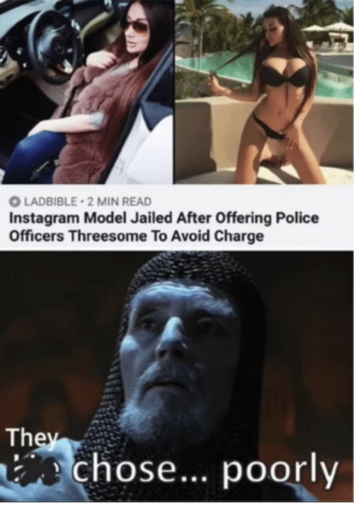 Police three some