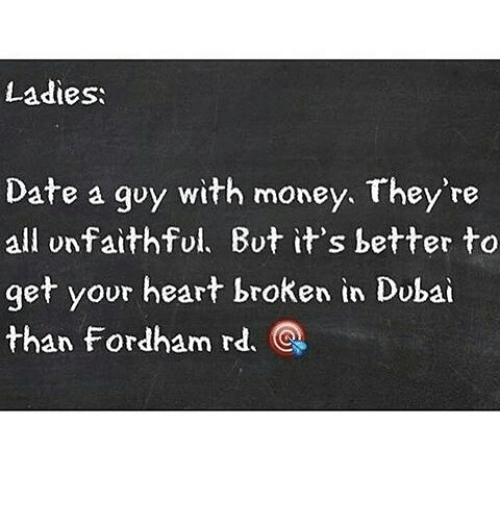 Dating men with money