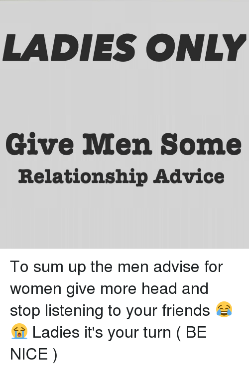Give Dating Advice To Your How Friend