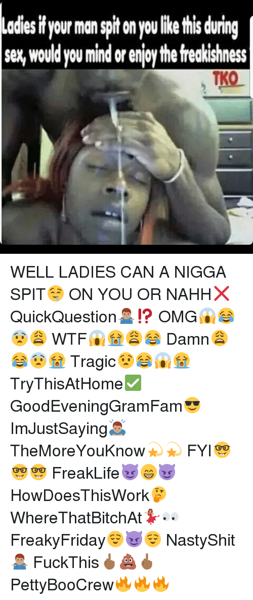 Spit On During Sex