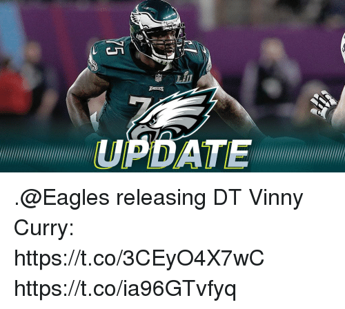 Philadelphia Eagles, Memes, and Date: LAIT  DATE .@Eagles releasing DT Vinny Curry: https://t.co/3CEyO4X7wC https://t.co/ia96GTvfyq