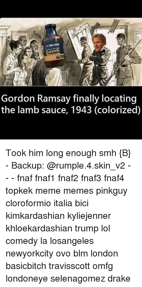 Lamb Gordon Ramsay Finally Locating the Lamb Sauce 1943 Colorized