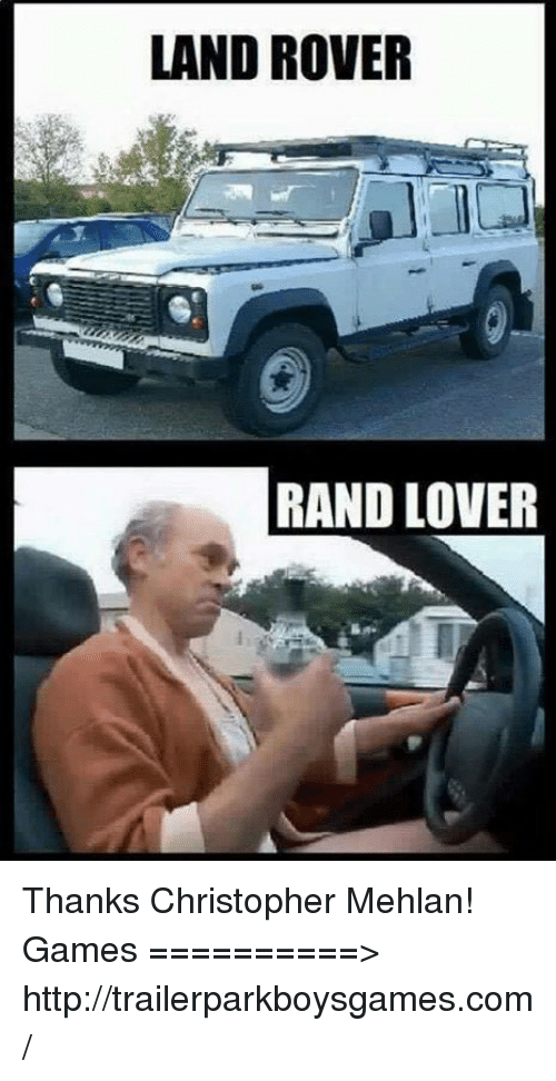 Best memes about land rover