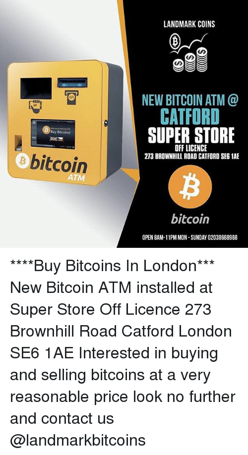 Landmark coins new bitcoin atm catford super store qr buy bitcoins london sunday and girl memes landmark coins new bitcoin atm catford super ccuart Images