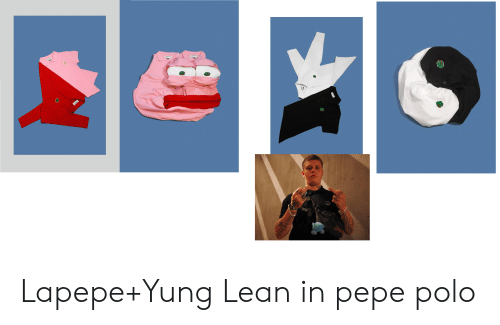 0fec61a676261 Lapepe+Yung Lean in Pepe Polo