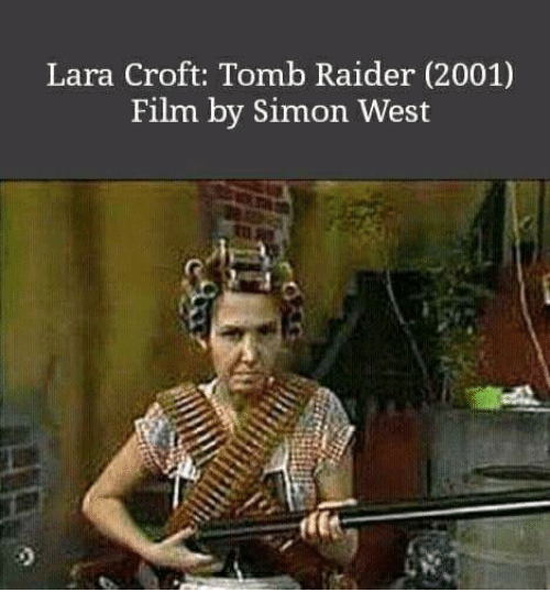 Lara Croft Tomb Raider 2001 Film By Simon West Raiders