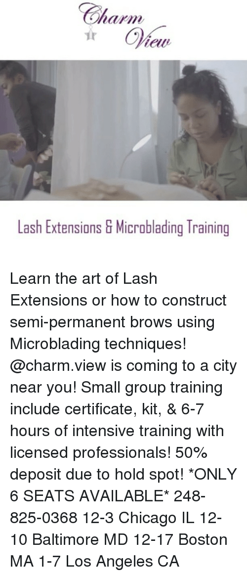 Lash Extensions G Microblading Training Learn the Art of