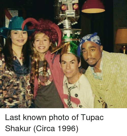 Tupac Shakur, Tupac, and Shakur: Last known photo of Tupac Shakur (Circa 1996)