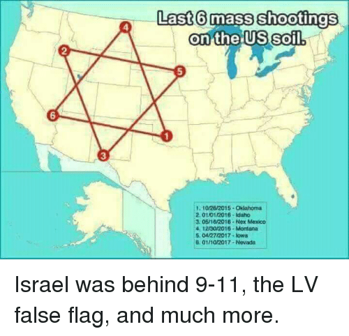 9 11 israel and mexico last6 m shootings on the us soil
