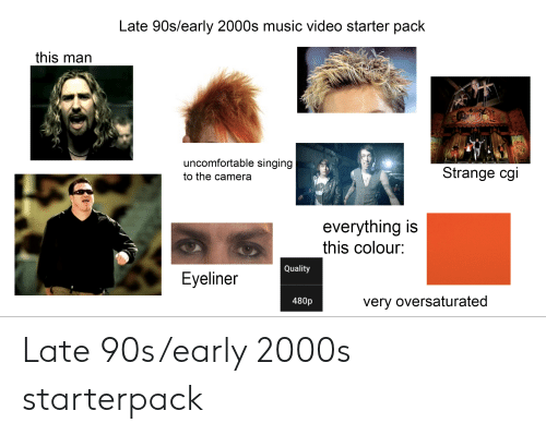 Late 90searly 2000s Music Video Starter Pack This Man