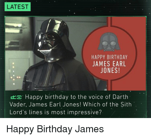 25+ Best Memes About Happy Birthday James