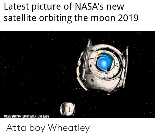 Latest Picture of NASA's New Satellite Orbiting the Moon