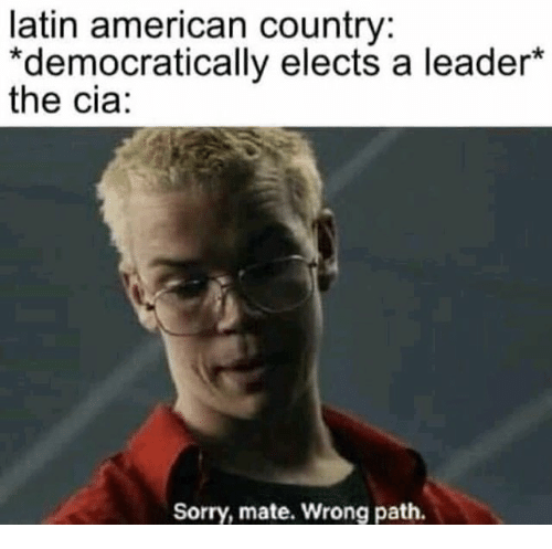 Latin American Country *Democratically Elects a Leader* the
