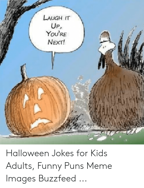 LAUGH IT UP You\u0027RE NEXT! Halloween Jokes for Kids Adults