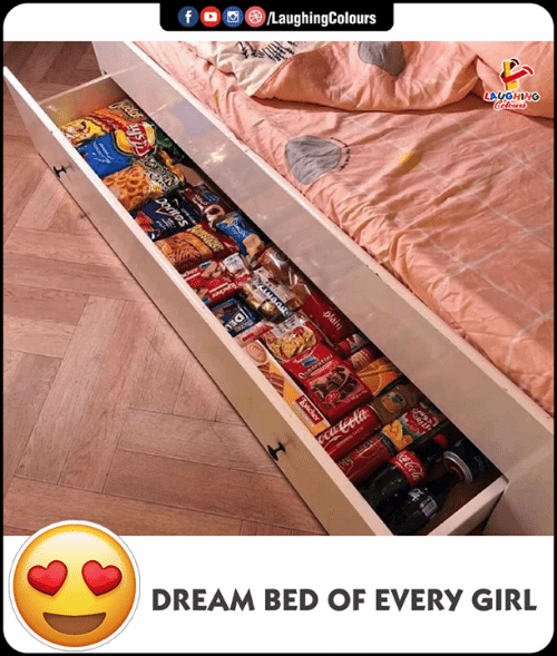 Girl, Indianpeoplefacebook, and Dream: LAUGHING  DREAM BED OF EVERY GIRL
