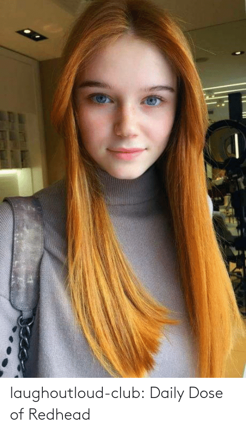 Club, Tumblr, and Blog: laughoutloud-club:  Daily Dose of Redhead