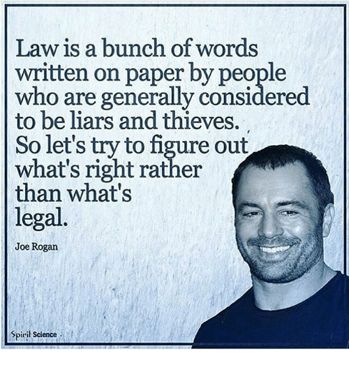 Law Is a Bunch of Words Written on Paper by People Who Are Generally A Bunch Of Words on mean words, tons of words, abundance of words, plenty of words, a bunch symbols, none of words, cluster of words, who made words, a bunch synonyms, lots of words, comment about words,