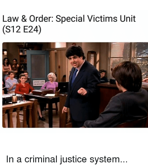 law order special victims unit cs12 e240 in a 11618383 25 best criminal justice memes threes memes, sexual bases memes