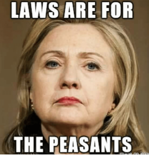 Image result for laws are for the peasants