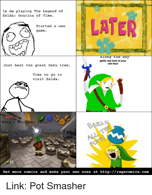 le me playing the legend of zelda ocarina of time 2679335 ✅ 25 best memes about legend of zelda legend of zelda memes