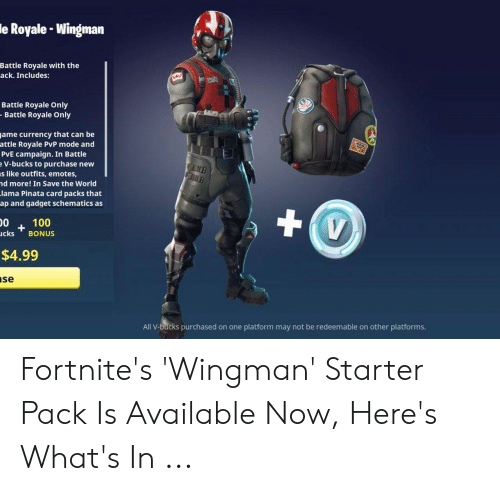 Le Royale Wingman Battle Royale With The Ack Includes
