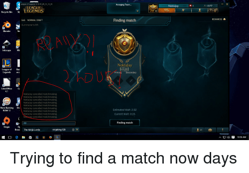 league of legends hvordan matchmaking fungerer