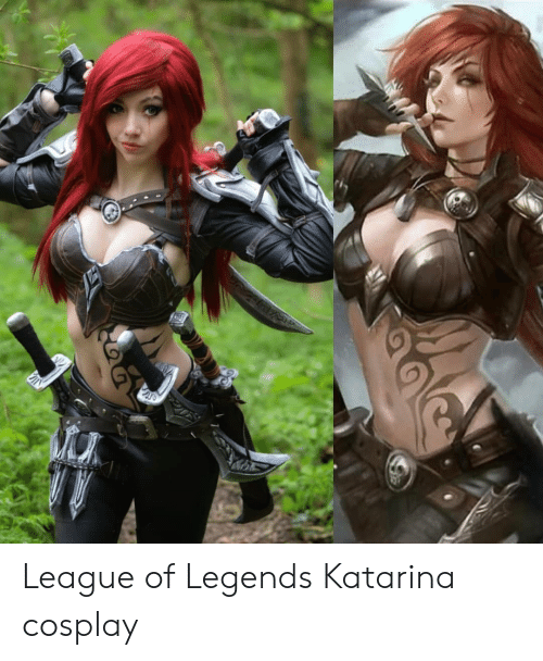 League of Legends, Cosplay, and League: League of Legends Katarina cosplay