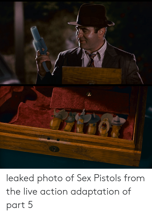 Sex, Live, and Sex Pistols: leaked photo of Sex Pistols from the live action adaptation of part 5