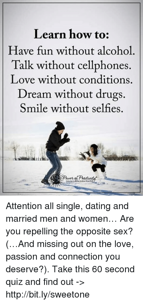 Dream about dating a married man