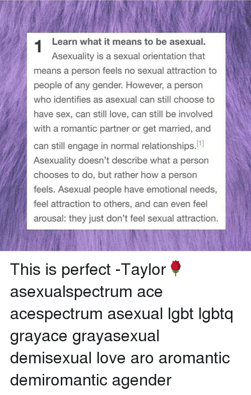 What it means identify demisexual