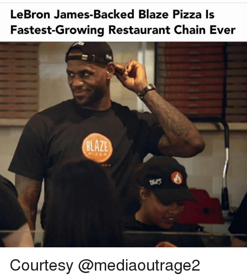 3bd7b144c77 LeBron James-Backed Blaze Pizza Is Fastest-Growing Restaurant Chain ...