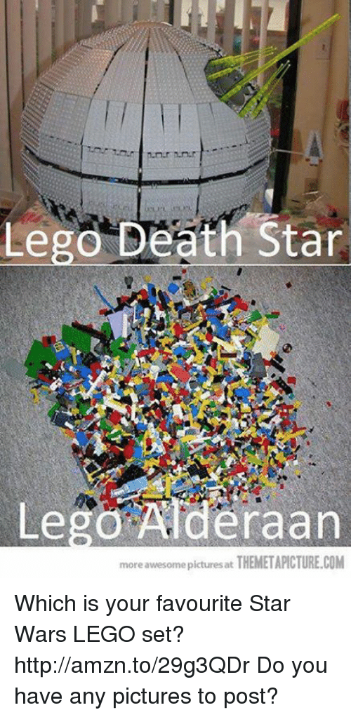 Lego Death Star Ego Alderaan More Awesome Pictures At