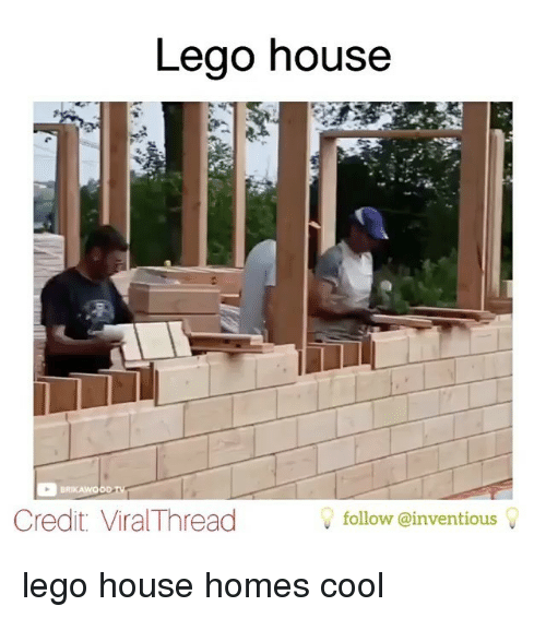 Lego House Credit ViralThread Follow Lego House Homes Cool