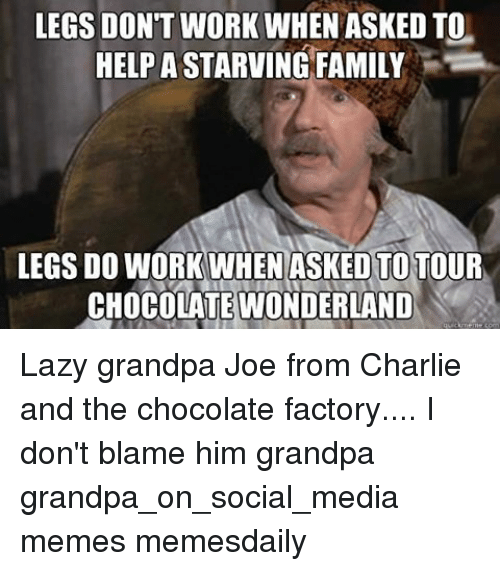 Charlie And The Chocolate Factory Grandpa