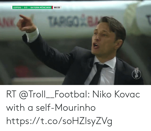 Memes, Troll, and Bayern: LEIPZIG 0:2 BAYERN MUNCHEN  80:23 RT @Troll__Footbal: Niko Kovac with a self-Mourinho https://t.co/soHZlsyZVg