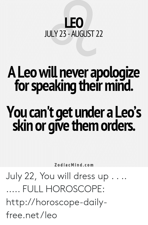 ALL ABOUT Leo