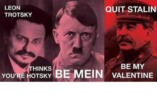 Dictator Valentines Cards