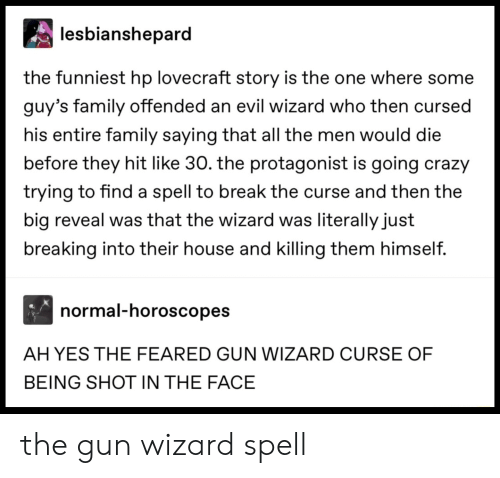 Lesbianshepard the Funniest Hp Lovecraft Story Is the One