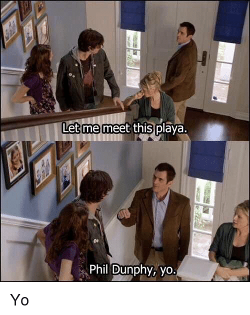 Memes, 🤖, and Yo Yo: Let me meet this p  Phil Dunphy, yo. Yo